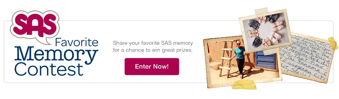Favorite Memory Contest