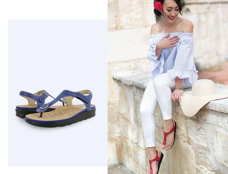 Sandal Spotlight Marina Sandals