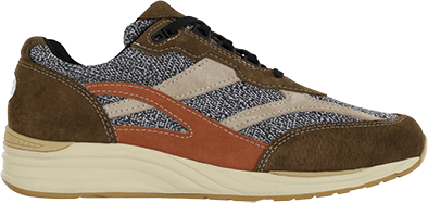 Men's Journey Mesh LT Lace Up Sneaker in Canyon