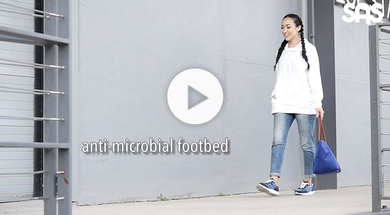 Women's Tour Mesh LT Lace Up Sneaker in Marine Video, Media Alternative Opens in New Window