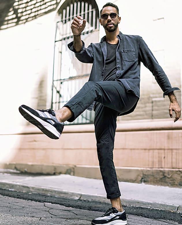 Men's Journey Mesh Lux Lace Up Sneaker